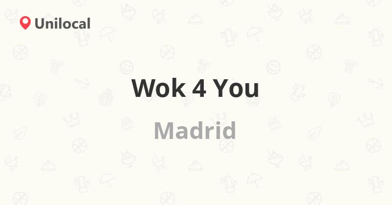 wok 4 you